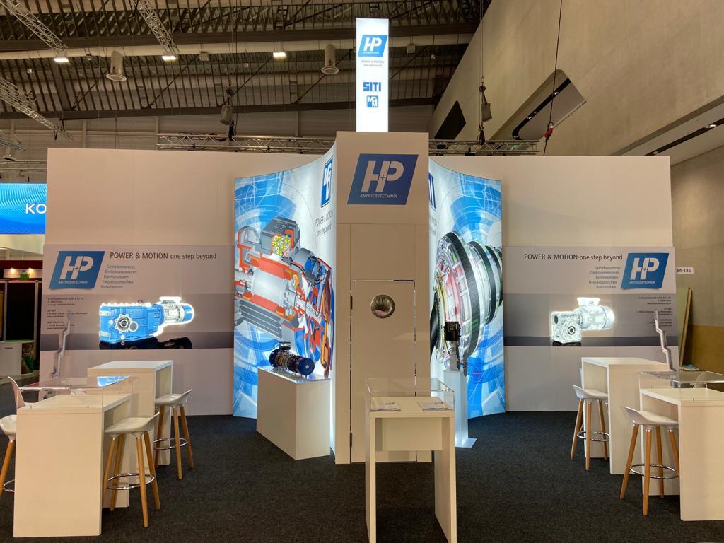 H+P Antriebstechnik Messestand